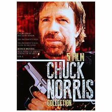NEW DVD  - CHUCK NORRIS - CHARLES BRONSON - 5 MOVIE COLLECTION