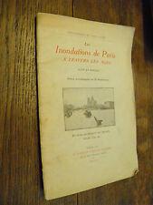 Les inondations de Paris à travers les âges  Cité et Marais / 1910