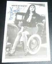 Tera Patrick Signed Garage Magazine Subscription Card Hustler Penthouse Playboy