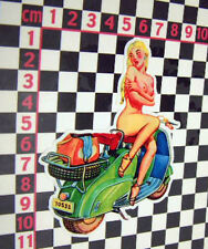 Scooter Girl Sticker -  Lambretta