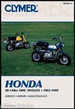 CLYMER MANUAL HONDA ST90 1973-75, C90 1966-69, CT90 1969-79, CT110 1980-84 & 86