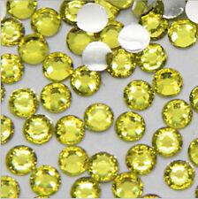 1000 Facets Resin Rhinestone Gems Flat Back Crystal Beads Nail Art Decor 3mm