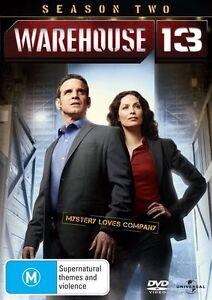 Warehouse 13 Season Two 3-Disc Set Region 4 DVD Brand New Sealed