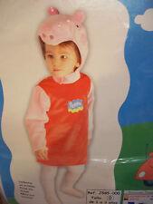 VESTITO CARNEVALE  PEPPA PIG   1/3 ANNI cod.7753