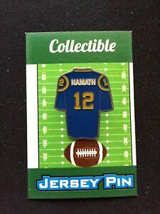 Los Angeles Rams Joe Namath jersey lapel pin-Classic BROADWAY Collectable