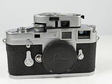 LEICA M3 DOUBLE STROKE 35MM FILM RANGEFINDER CAMERA BODY + METER MR