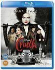 Cruella Blu-ray DVD With   Free Shipping Pre-order 2021