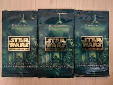 Star Wars CCG Endor Limited Booster Pack SEALED one 1 SWCCG
