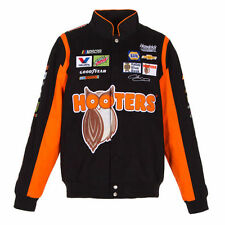 Chase Elliott JH Design Black Orange Hooters Cotton Jacket JH Design new