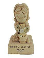 """Vintage Paula Figurine """"World's Greatest Mom"""""""