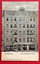 AK BERLIN Charlottenburg um 1910 Wohnhaus Kaiser Friedrichstr. 80/81 RAR ( 10277