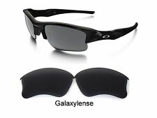 Galaxy Replacement Lenses For Oakley Flak Jacket XLJ Sunglasses Stealth Black