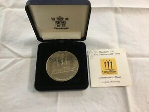 Manchester 2002 XVII Commonwealth Games Commemorative Medal