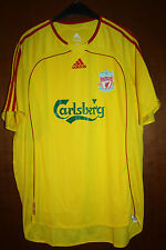 Maglia Shirt Maillot Third Jersey Liverpool Inghilterra England Carlsberg Yellow