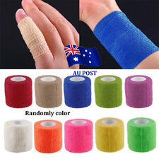 Kinesiology Self-Adhering Bandage Wrap Elastic Adhesive Stretch First Aid Tape E