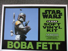 Kaiyodo Star Wars BOBA FETT 1/6 MIMB Kit V.Rare
