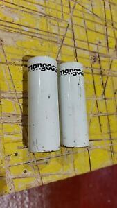 White Mongoose BMX Stunt Pegs 14MM  ( pair )