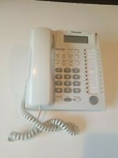 Panasonic Kx T7735 12 Button Display Speaker Phone White Office Home Used Tested