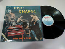 "Boys Town Gang Disc Charge 1982 Hispavox Spain Edit - LP Vinilo 12"" VG/VG"