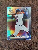2019 Bowman Platinum Pete Alonso #20 RC - New York Mets