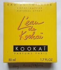 L'eau de Kookai Parfums - Paris EDT 50ml Spray Sealed Box Genuine Perfume Rare