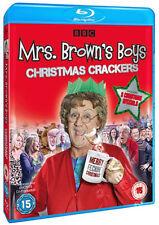 Mrs Brown's Boys: Christmas Crackers NEW Series Blu-Ray Disc Kellett O'Carroll