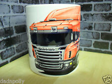 SCANIA TRUCK - SCANIA R470 - IDEAL GIFT CERAMIC MUG -  PERSONALISED IF REQUIRED