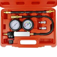 Cylinder Leak Tester Petrol Engine Compression Leakage Leakdown Detector Kits US