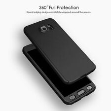 Ultra thin Hybrid 360° Hard Cover Case + Curved Screen Protor For Galaxy S7 Edge
