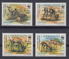 Somalia (J. Soomaaliya) - Michel-Nr. 444-447 postfrisch/** (WWF Wildtiere m. Auf