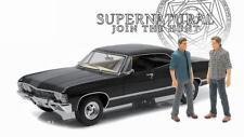 CHEVROLET Impala Sedan SUPERNATURAL 2 Figurines 1/18 (1 figurine endommagée)