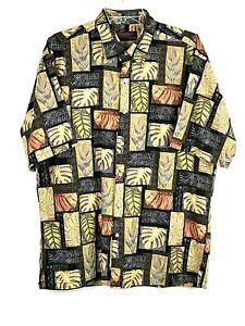 Tori Richard Honolulu Hawaiian Aloha Camp Shirt 100% Cotton S/S Men's Size M New