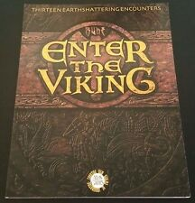 RUNE: ENTER THE VIKING AG3611 Roleplaying Game RPG Softcover 13 Encounters NEW!