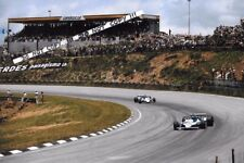 9x6 Photograph  Laffite & Depailler  Ligier JS11 , Brazilian GP  Interlagos 1979