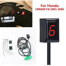 Motorcycle Bike LED Digital Gear Shifter Indicator  For Honda CBR600 F4I CBR 600