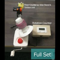 Standard Yarn Ball Winder With Electric Rotation Counter & Meter Length Counter