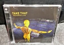 Take That Progress Live (CD, 2011, 2-Disc) FAST & FREE