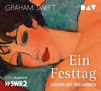 IRIS BERBEN - GRAHAM SWIFT: EIN FESTTAG   3 CD NEW