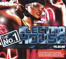 THE NO 1 ELECTRO HOUSE - 4 X CDS 60 UNMIXED TRACKS !! HOUSE TRANCE CDJ CD DJ