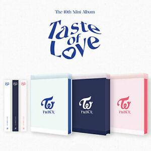 TWICE TASTE OF LOVE Album 3 Ver SET 3CD+3 Photo Book+24 Card+3 Pre-Order