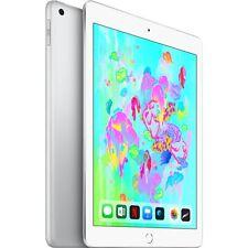 """Apple iPad (128GB), Tablet-PC, silber, 24,6 cm (9,7""""), 128 GB"""
