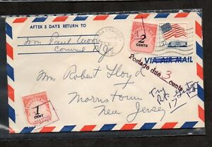 """US #1208, J89, J90, Flag Over White House stamp, """"Postage Due 3 Cents."""""""