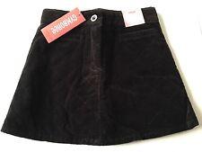 NWT Girls Gymboree TRES CHIC Black Quilted VELVET Skort Size 5 Holiday