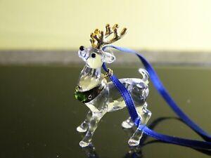 Swarovski Reindeer Ornament Gold (842767)