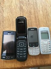 job lot old mobile phones