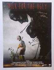 """""""Milk for the Ugly"""" SIGNED!  2014 Motion Book Promo Poster DEVIANT ART 18"""" x 24"""""""
