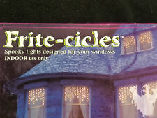 "Electric Frite-Cicles Orange 50 Spooky Lights Indoor Halloween Decoration 32"""