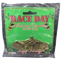 NASCAR Race Day Christmas Ornament 24k Gold Overlay Jeff Gordon #24 New