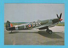 AEROPLANES -  AFTER THE BATTLE POSTCARD  -  SPITFIRE  AEROPLANE  -  CARD  P 106