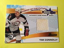2001-02 Bowman Fabric Of The Future Young Stars Tim Connolly Jersey